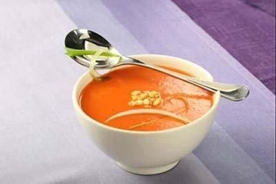 Sopa pimientos