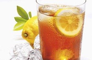 Té frío al limón