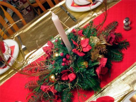 Cómo crear 3 Centros de Mesa de Navidad