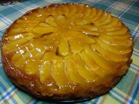 Cómo hacer bizcocho de manzana casero