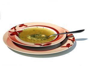 Como preparar caldo base para la sopa